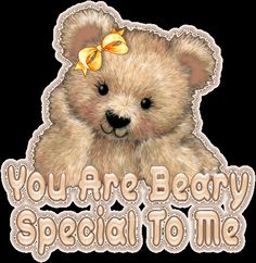 Animated Gif by JoanBlalock Hugs And Kisses Quotes, Hug Quotes, Special Friend Quotes, Friend Poems, Hug Pictures, Teddy Bear Pictures, Teddy Bear Quotes, Bear Gif, Cute Good Morning Quotes