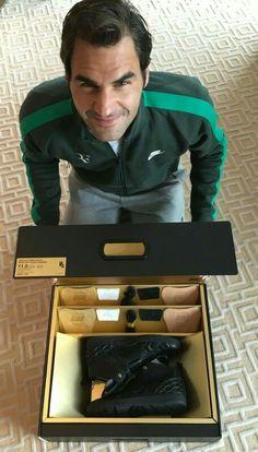 Nike's gift to Roger Federer