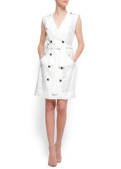 MANGO - CLOTHING - Dresses - Linen dress