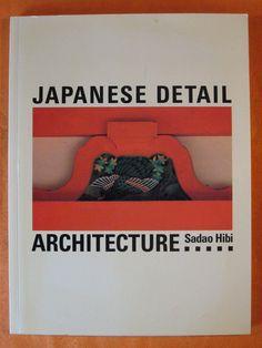 Japanese Detail: Architecture by Sadao Hibi by Pistilbooks on Etsy