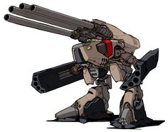 """Macross """"Heavy Howard"""" Monster Destroid. One of the few designs not used in a FASA Technical Manual."""
