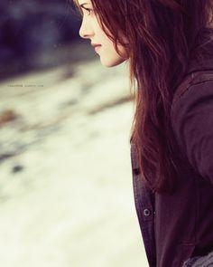 "Kristen Stewart portrays the character of Bella Swan in ""New Moon""......"
