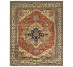 Pasargad Serapi Collection Wool Area Rug - $2600 on SALE, 9x12