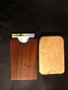 How to Make a Pocket Wooden Business Card Holder