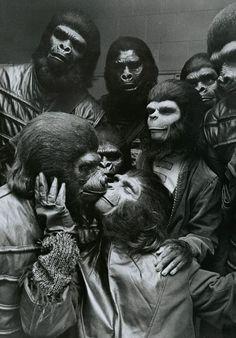 """Nos bastidores de """"Planeta dos Macacos"""" (1968)"""