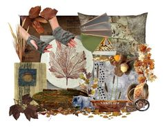 """""""A Fall Walk in the Woods"""" by whimzingers ❤ liked on Polyvore featuring art"""