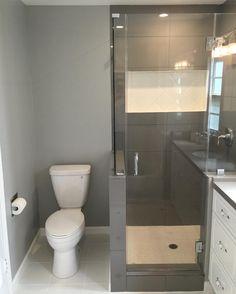 Bathroom complete by @cullenbuilders Shower side of the room! #bathroomremodel #residential #homeremodel #paint #tile #builders #remodelers #build #construction #design by cullenbuilders