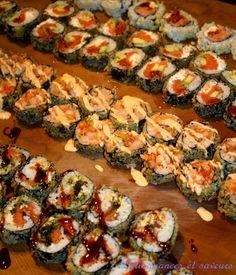 Délinquances et saveurs: Sushi à la maison de Geneviève Everell