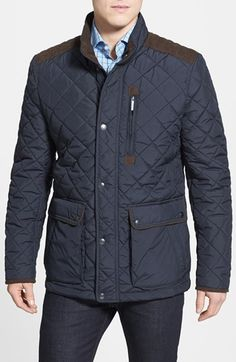 For The Gents Quilted Jacket Men S Style Pinterest