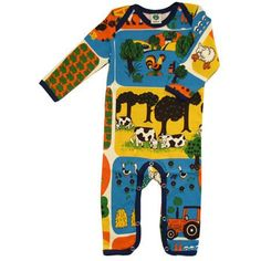 Farm Cottonsuit Romper. Gender Nuetral. 100% Cotton. By Danish ...
