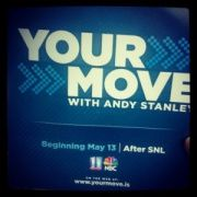 SNL then #AndyStanley with #YourMove