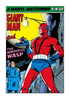 Bob Powell Ant man | Pinup from Tales to Astonish #63