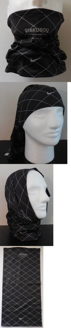 Hats and Headwear 158918: Nike Adult Unisex Running Printed Wrap Gyakusou Black White Reflect Silver Osfm -> BUY IT NOW ONLY: $58.95 on eBay!
