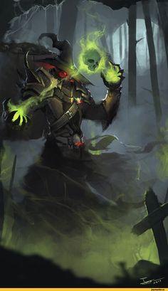 Тёмное фэнтези,Fantasy,Fantasy art,art,арт,красивые картинки,Маги(Fantasy),Ben Juniu