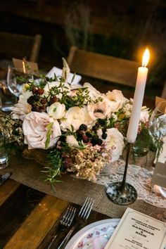 Wedding Centerpiece - Kelly Williams Photography