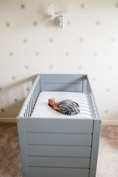 Modern Nursery with Star Decals - Project Nursery
