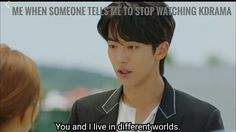 from the drama. Bride Of The Water God Korean Drama Songs, Korean Drama Funny, Korean Drama Quotes, Kdrama Memes, Funny Kpop Memes, Stupid Funny Memes, K Drama, Drama Fever, Bride Of The Water God