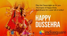 """Happy Dussehra"" A time for celebration, A time for victory of good over bad, A time when world see the example of power of good. Let us continue the same ""true"" spirit. Blessing of Dussehra..."