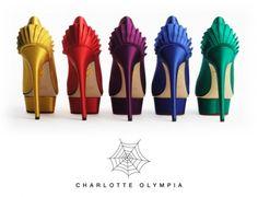 Charlotte Olympia's signature Paloma heel on IndianWeddingSite.com