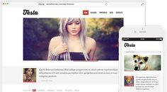 Tesla - Best free photography wordpress themes