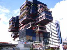 Casa do Comércio, Salvador, Bahia, Brazil    Looks like the building tried, unsuccessfully, to contain a sneeze...