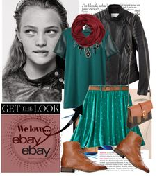 """""""Rock Menswear Like a Lady with eBay"""" by lidia-solymosi ❤ liked on Polyvore"""