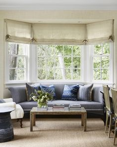 How to handle shades in living room and dining room and kitchen