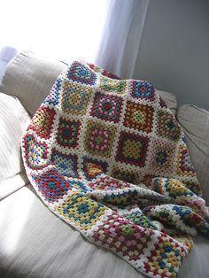 Ravelry: kec19's Granny Square Blanket