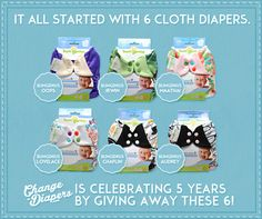 Change-Diapers 5 Year Anniversary Giveaway