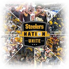 We travel well, that's true, but most of us are transplants from PA. Pitsburgh Steelers, Steelers Stuff, Cleveland News, Pittsburgh Sports, Steeler Nation, Football Team, Cincinnati, Tennessee, Atlanta