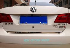 Free Shipping! Rear Door Trunk Lid Gate Bottom Cover Trim For Volkswagon VW Jetta 6 Mk6 2010 2011 2012 2013