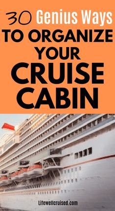 30 Cruise Cabin Hacks Every Cruiser Needs to Know - Life Well Cruised