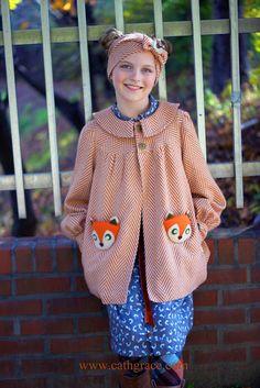 CathGrace: Emmie's Fall Fox Coat
