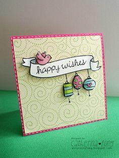 Happy Wishes Card by @Catherina Fongjoyo