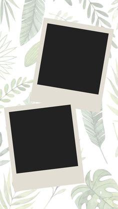 Caso goste clica no link e segue lá Polaroid Frame Png, Polaroid Foto, Polaroid Picture Frame, Polaroid Template, Picture Templates, Photo Collage Template, Creative Instagram Stories, Instagram Story Ideas, Flower Background Wallpaper