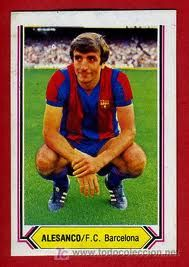 José Ramón Alexanko, born 19 May 1956, Spanish central defender, FC Barcelona (1980-1993).  He played with success for both Athletic Bilbao and FC Barcelona, winning several accolades for the latter – 16 in total – and appearing in 367 La Liga games over the course of 17 seasons (34 goals).