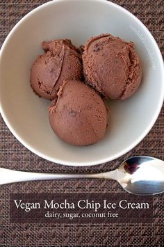 Indulge yourself in this Mocha Vegan Ice Cream! Dairy, Egg, Sugar, and Coconut-free! Made with cashews, but with allergy substitutes. Full o...