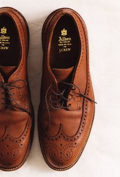 Alden for J. Crew. - a someday must have pair