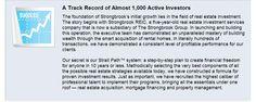 Strongbrook's Active investors