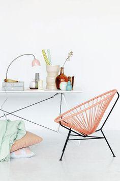 INTERIEURINSPIRATIE. Haal de lente in huis met pasteltinten - Deco - Design - Home - ELLE België