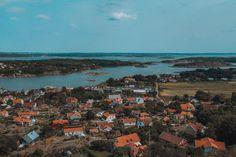 10 Best Islands To Visit in the Gothenburg Archipelago • I, Wanderlista Gothenburg Archipelago, Famous Lighthouses, Over The Bridge, Arch Bridge, Sweden Travel, Nature Reserve, Big Island, Beautiful Islands, Public Transport
