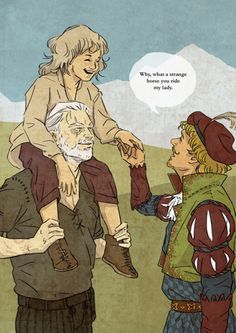 "johix: ""I really really needed Ciri with her daddies today "" ! Witcher 3 Art, The Last Wish, The Witcher Geralt, White Wolf, Cartoon Tv, Superwholock, Movies Showing, Disney, Anime"