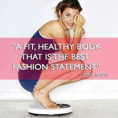 Your Fit, Healthy body is the BEST Fashion Statement. https://ronpruett.myvi.net  Don't forget to visit my blog ronpruett.com