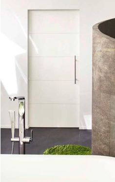 Lebo Interior Door Gallery - Lebo Modern Interior Doors pocket door | White