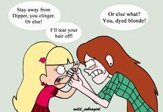Fight for Dipper by wild-cobragirl on DeviantArt