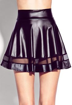 Edgy Girl Faux Leather Skirt | FOREVER21 - 2000072914