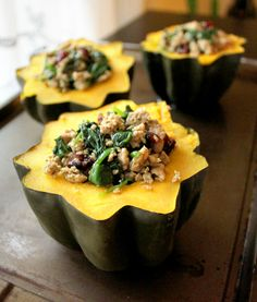 acorn-squash-stuffed-turkey-bowls