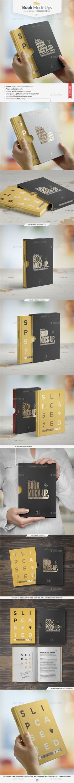 Book Mock-up / Slipcase Edition   #bookmockup   Download: http://graphicriver.net/item/book-mockup-slipcase-edition/9332736?ref=ksioks