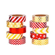 Mudder 10 Rolls Decorative Washi Tapes Washi Masking Tape for Crafts, Scrapbooks, DIY Crafts and Gift Wrapping Office Party Supplies * Startling review available here  : Valentine Gifts