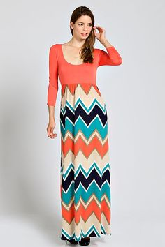 Spring Time Here We Come Welsh, Maxi Dresses, Spring Time, Chevron, Personality, Shoulder Dress, Boutique, Skirts, Fashion